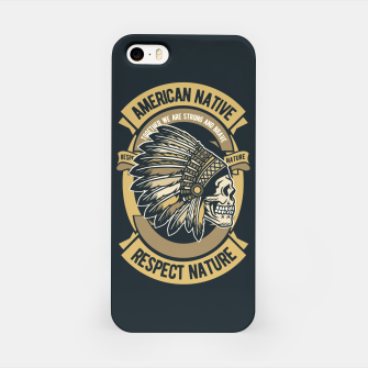 AMERICAN NATIVE - Together we are Strong & Brave iPhone Case thumbnail image