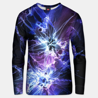 Thumbnail image of Cyber Flowers Unisex pull, Live Heroes