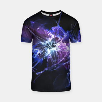 Cyber Flowers T-shirt thumbnail image