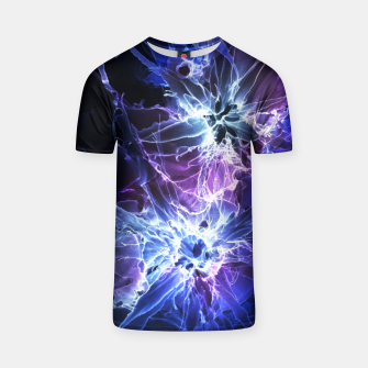 Thumbnail image of Cyber Flowers T-shirt, Live Heroes