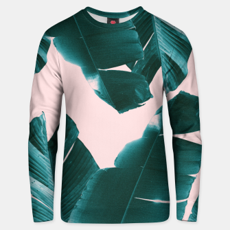 Thumbnail image of Banana Leaves Tropical Vibes #1 #foliage #decor #art Unisex sweatshirt, Live Heroes