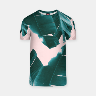 Thumbnail image of Banana Leaves Tropical Vibes #1 #foliage #decor #art T-Shirt, Live Heroes