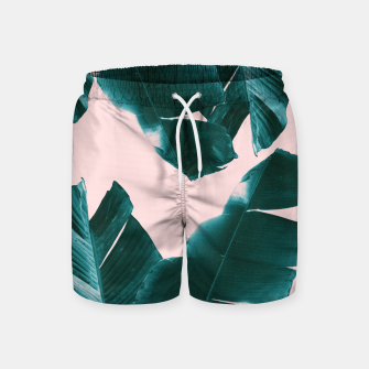 Thumbnail image of Banana Leaves Tropical Vibes #1 #foliage #decor #art Badeshorts, Live Heroes
