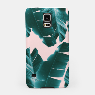 Thumbnail image of Banana Leaves Tropical Vibes #1 #foliage #decor #art Handyhülle für Samsung, Live Heroes