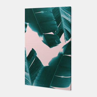 Thumbnail image of Banana Leaves Tropical Vibes #1 #foliage #decor #art Canvas, Live Heroes