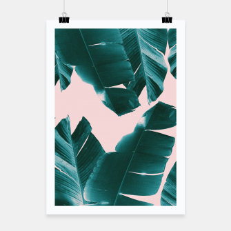 Thumbnail image of Banana Leaves Tropical Vibes #1 #foliage #decor #art Plakat, Live Heroes