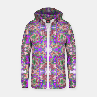 Thumbnail image of Extraordinary explosion of colour  Sudadera con capucha y cremallera , Live Heroes