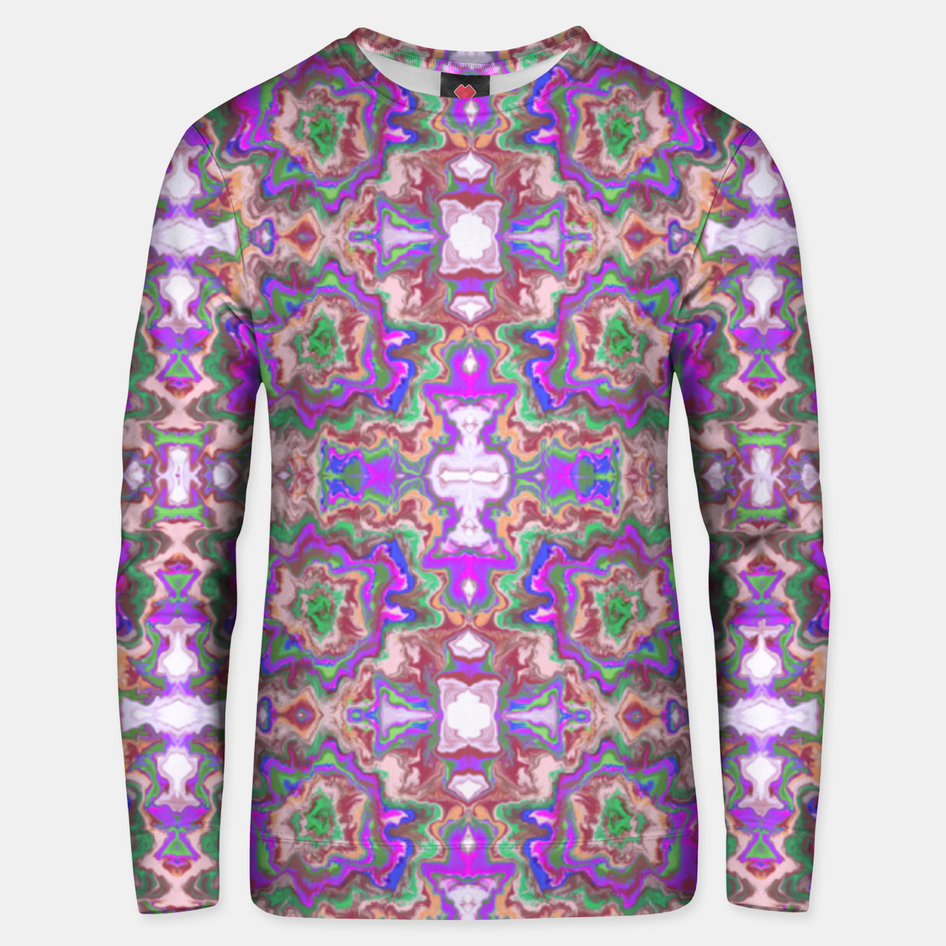Image of Extraordinary explosion of colour  Sudadera unisex - Live Heroes