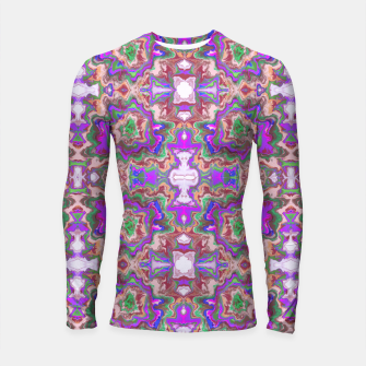 Thumbnail image of Extraordinary explosion of colour  Longsleeve rashguard, Live Heroes