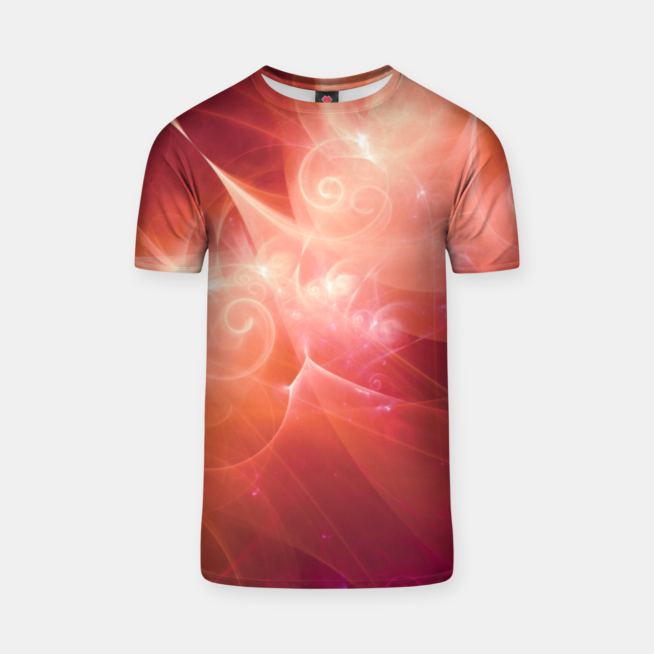 Image of Swirls and Curls T-shirt - Live Heroes