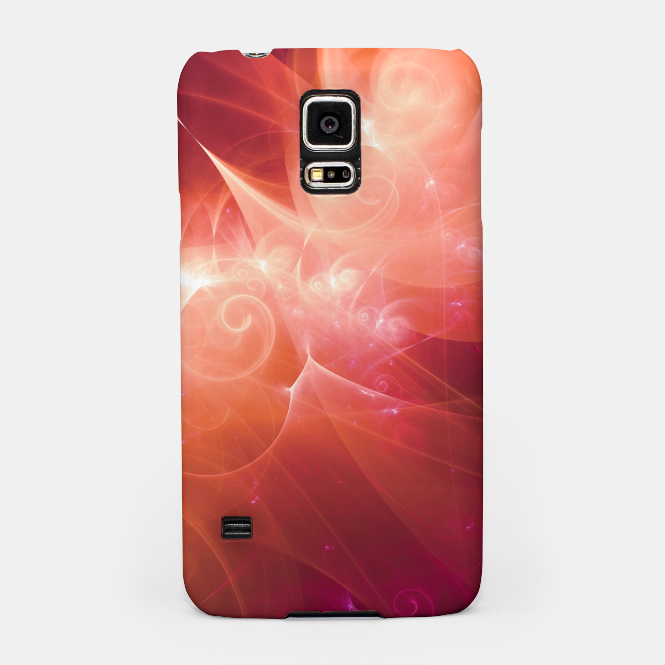 Image of Swirls and Curls Samsung Case - Live Heroes