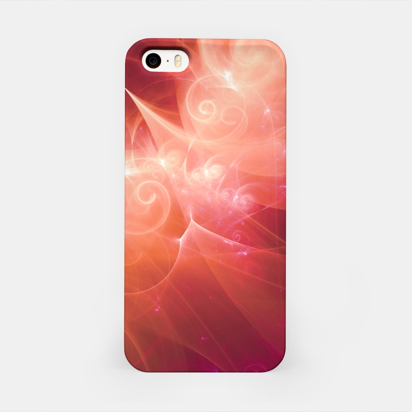 Image of Swirls and Curls iPhone Case - Live Heroes