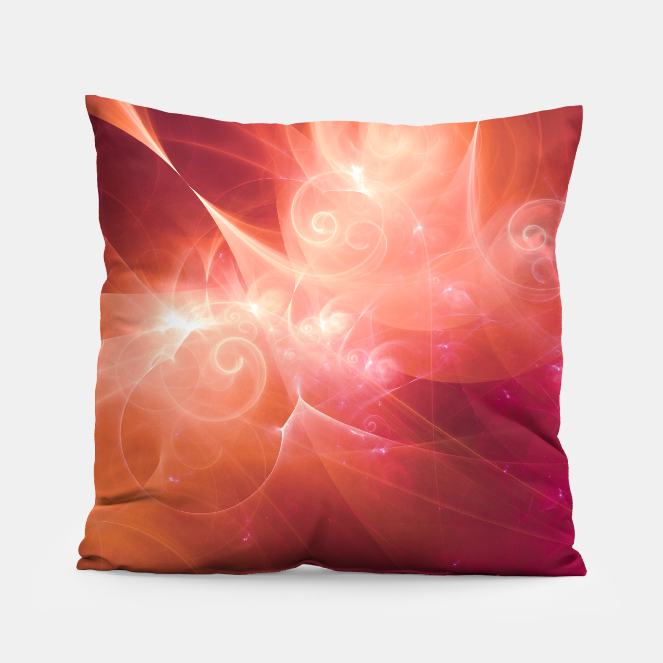 Image of Swirls and Curls Pillow - Live Heroes