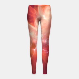 Swirls and Curls Girl's leggings thumbnail image