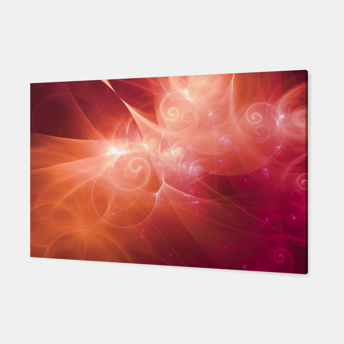 Image of Swirls and Curls Canvas - Live Heroes