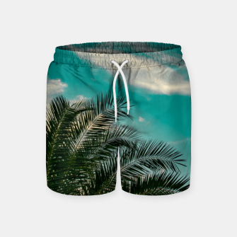 Thumbnail image of Palms on Turquoise - II Swim Shorts, Live Heroes