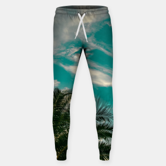 Miniaturka Palms on Turquoise - II Sweatpants, Live Heroes