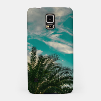 Thumbnail image of Palms on Turquoise - II Samsung Case, Live Heroes