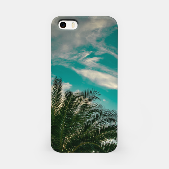 Thumbnail image of Palms on Turquoise - II iPhone Case, Live Heroes
