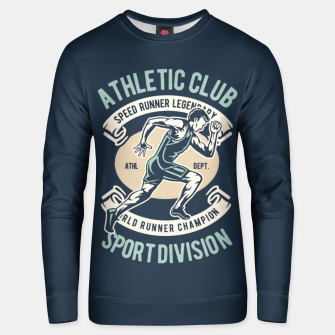 Thumbnail image of ATHLETIC CLUB - Speed Running Legendary Unisex sweater, Live Heroes