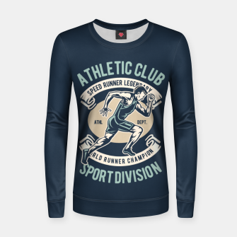 Thumbnail image of ATHLETIC CLUB - Speed Running Legendary Women sweater, Live Heroes