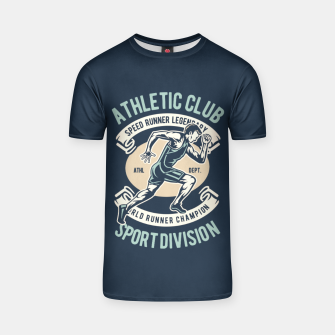 Thumbnail image of ATHLETIC CLUB - Speed Running Legendary T-shirt, Live Heroes