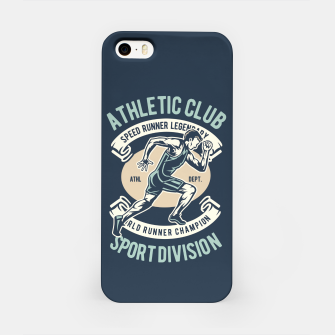 ATHLETIC CLUB - Speed Running Legendary iPhone Case thumbnail image
