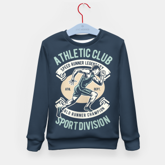 Thumbnail image of ATHLETIC CLUB - Speed Running Legendary Kid's sweater, Live Heroes