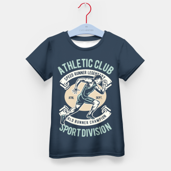 Thumbnail image of ATHLETIC CLUB - Speed Running Legendary Kid's t-shirt, Live Heroes