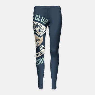 ATHLETIC CLUB - Speed Running Legendary Girl's leggings thumbnail image