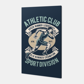 ATHLETIC CLUB - Speed Running Legendary Canvas thumbnail image