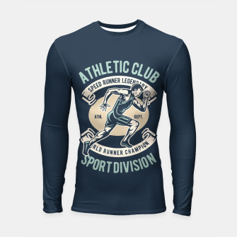 ATHLETIC CLUB - Speed Running Legendary Longsleeve rashguard  thumbnail image