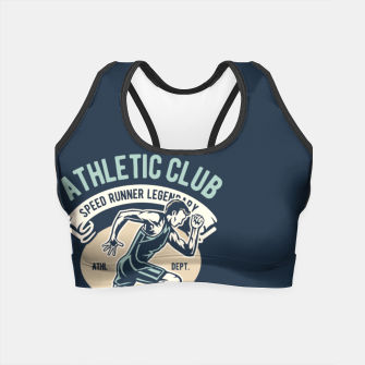Thumbnail image of ATHLETIC CLUB - Speed Running Legendary Crop Top, Live Heroes