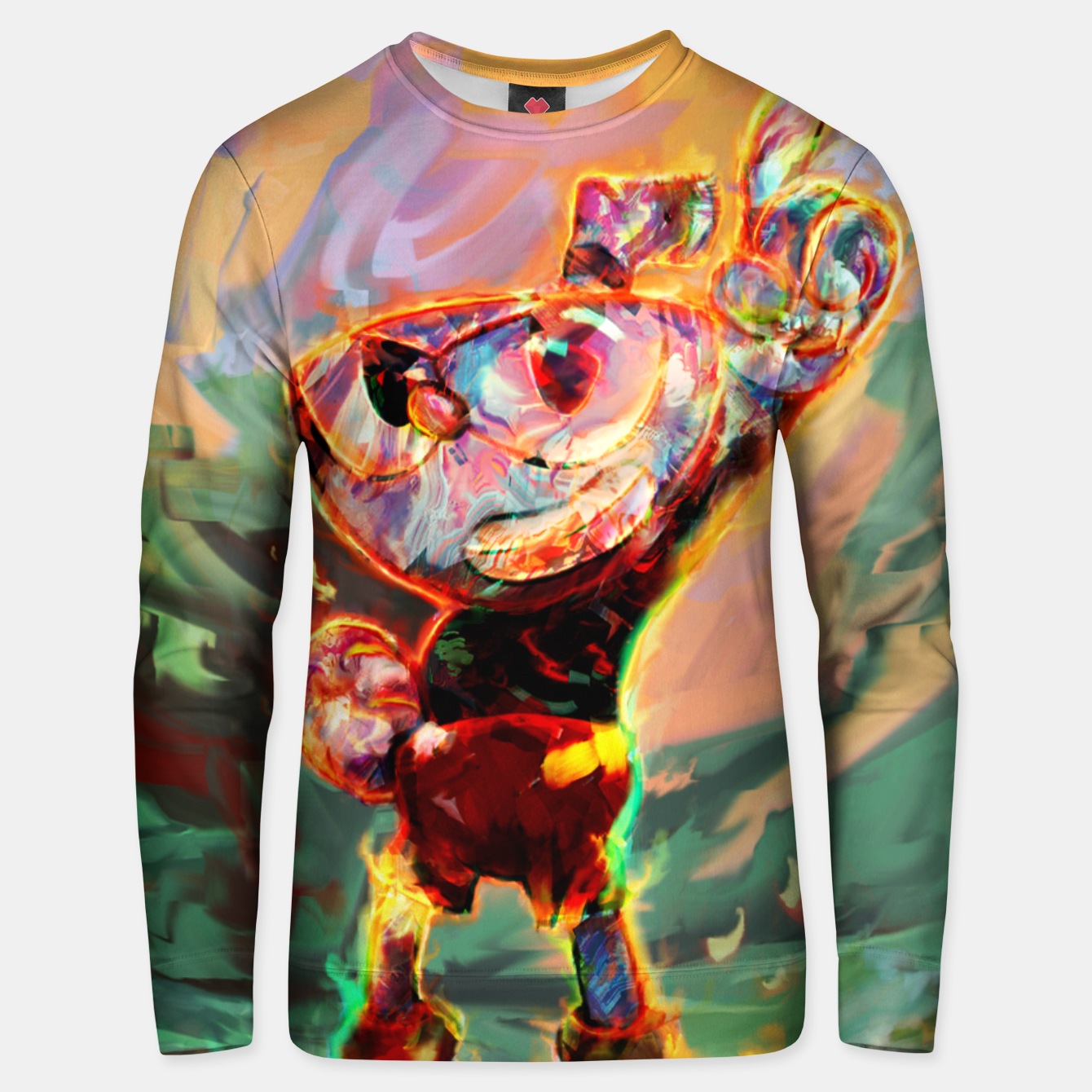 Image of cuphead Unisex sweater - Live Heroes