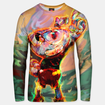 Thumbnail image of cuphead Unisex sweater, Live Heroes