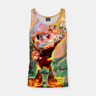 Thumbnail image of cuphead Tank Top, Live Heroes