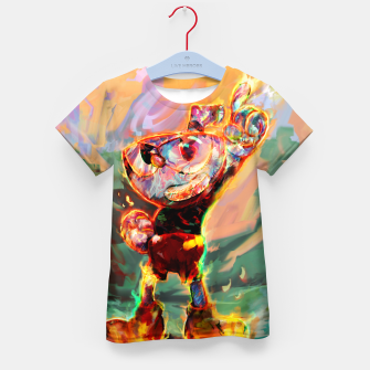 Thumbnail image of cuphead Kid's t-shirt, Live Heroes