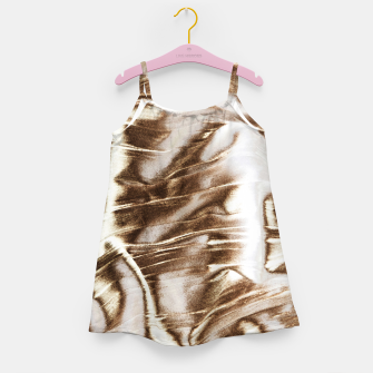 Golden Hangover Girl's dress Bild der Miniatur