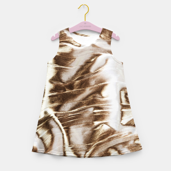 Golden Hangover Girl's summer dress Bild der Miniatur