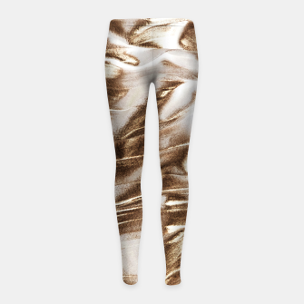 Thumbnail image of Golden Hangover Girl's leggings, Live Heroes