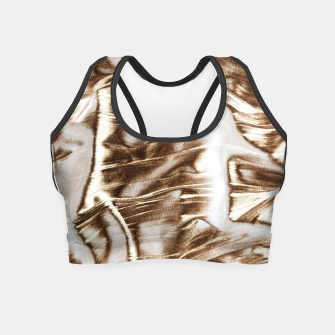 Miniatur Golden Hangover Crop Top, Live Heroes