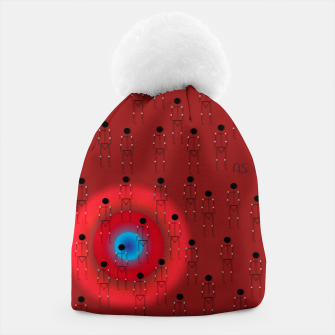 Thumbnail image of Dot PPL RED  Beanie, Live Heroes
