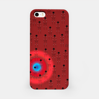 Thumbnail image of Dot PPL RED  iPhone Case, Live Heroes