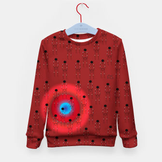 Thumbnail image of Dot PPL RED  Kid's sweater, Live Heroes