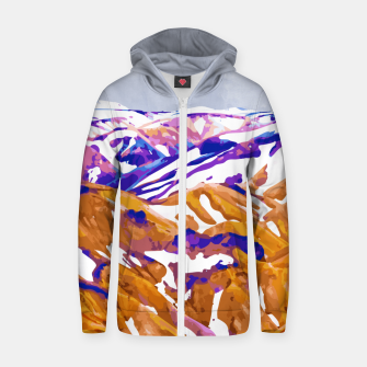 Thumbnail image of Snow Walk Zip up hoodie, Live Heroes