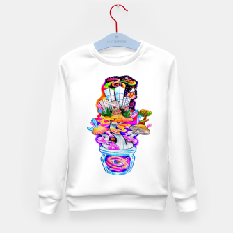 Miniatur Mush Luv Kid's sweater, Live Heroes