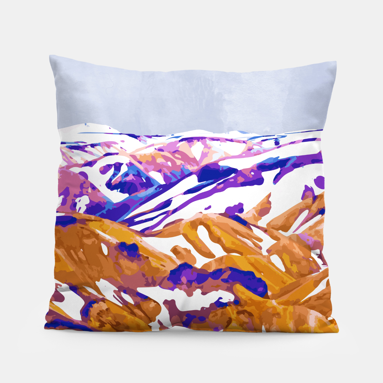 Image of Snow Walk Pillow - Live Heroes