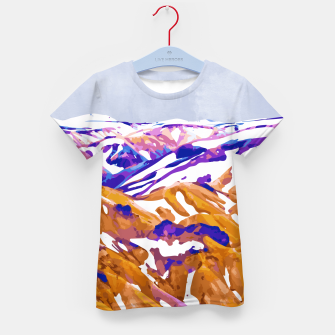 Thumbnail image of Snow Walk Kid's t-shirt, Live Heroes