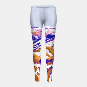 Thumbnail image of Snow Walk Girl's leggings, Live Heroes