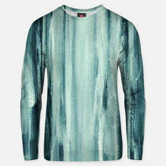 Thumbnail image of Teal Watercolor Dream #1 #painting #decor #art  Unisex sweatshirt, Live Heroes